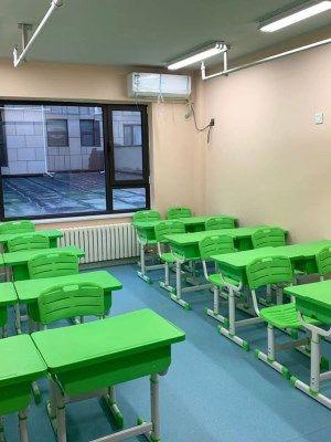 学校儿童桌写字桌椅中小学生套装学习辅导班桌椅升降