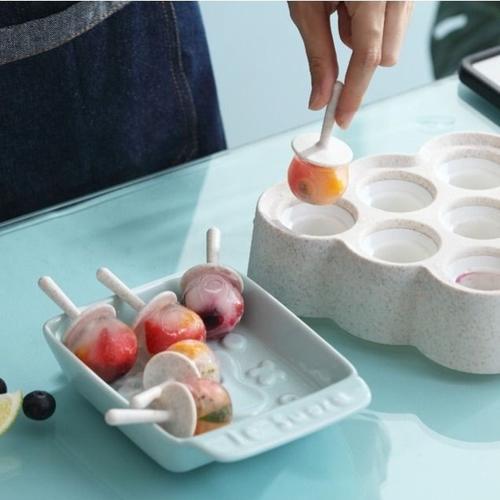 网红冰淇淋家用冰棒雪糕模具diy冰糕自制作冰块格儿童