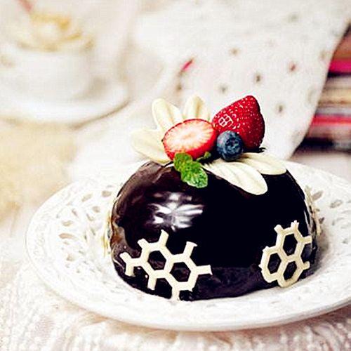 6连半圆慕斯模具 法式慕斯蛋糕diy烘焙用具巧克力创意
