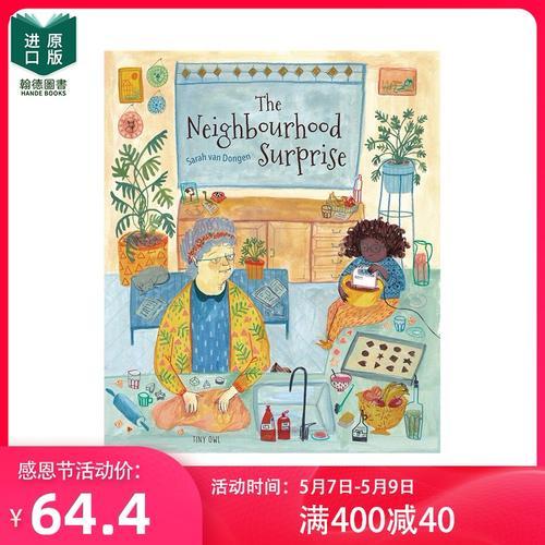 【现货】the neighbourhood surprise 邻居的惊喜 绘画美食饮食 英文