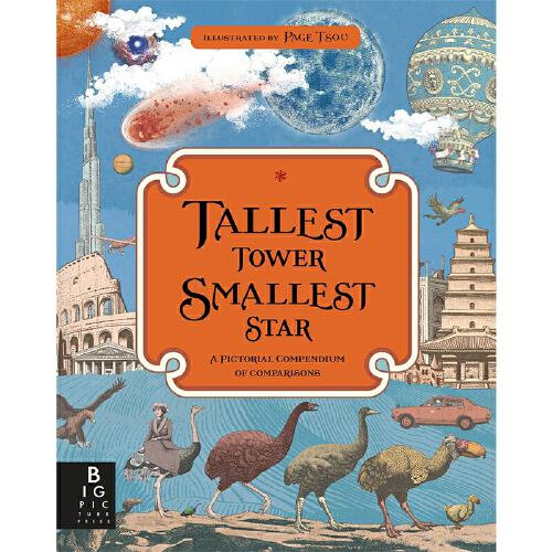 【中商原版】最高的塔,最小的星 英文原版 tallest tower, smallest