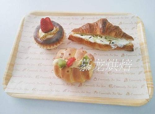30*40快餐餐盘托盘西点蛋糕面包饼店烘焙垫纸吸油纸防