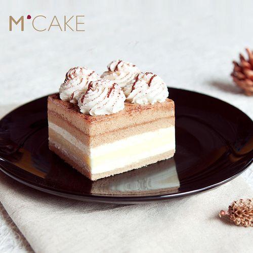mcake卡法香缇奶油芝士慕斯咖啡生日蛋糕同城配送上海
