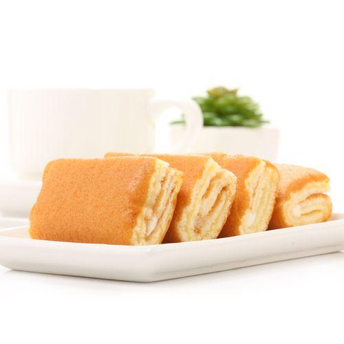 瑞士卷蛋糕整箱早餐速食懒人好吃的代餐小零食品面包排行榜 500g瑞士