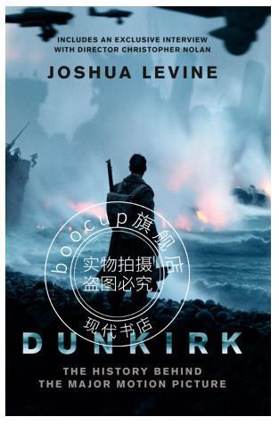 现货 敦刻尔克 电影版 英文原版 电影小说 dunkirk joshua levine 诺