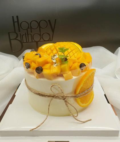 ins风简约水果蛋糕