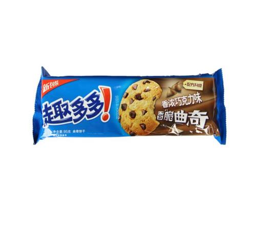趣多多香浓巧克力味曲奇饼干    95g/袋