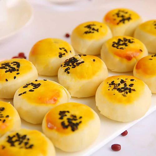 【买20送20枚】蛋黄酥雪媚娘点心饼干甜品网红零食