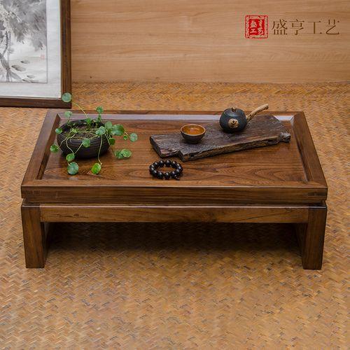 2021中式几木窗榻榻米子实功夫小桌桌桌飘茶几小炕茶
