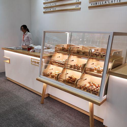 不锈钢面包柜面包店厂家直销新款展柜柜台中岛柜边柜