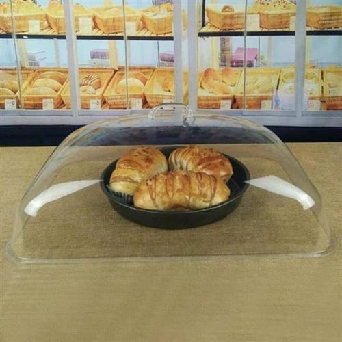 超市食品防尘盖子蛋糕房饼干面包罩卤菜耐用o防变形透明水果店餐