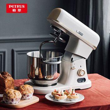 柏翠( petrus)厨师机 和面机 直流家用小型迷你多功能