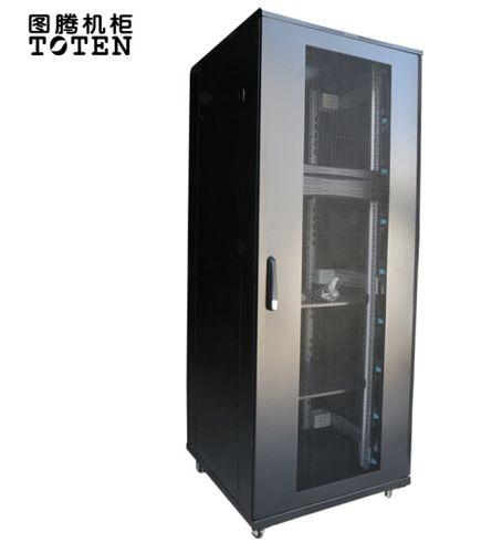 商城认证 图腾机柜g38142 42u机柜2米带双走线槽