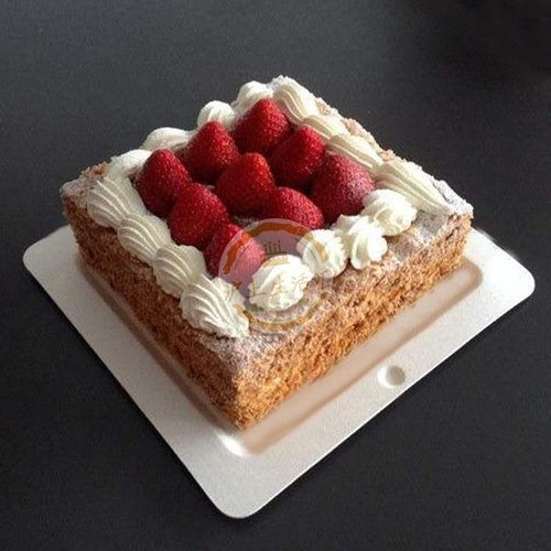 诺心lecake水果生日蛋糕上海 配送【草莓拿破仑】特价