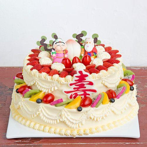 双层寿比南山蛋糕-6磅(内江)