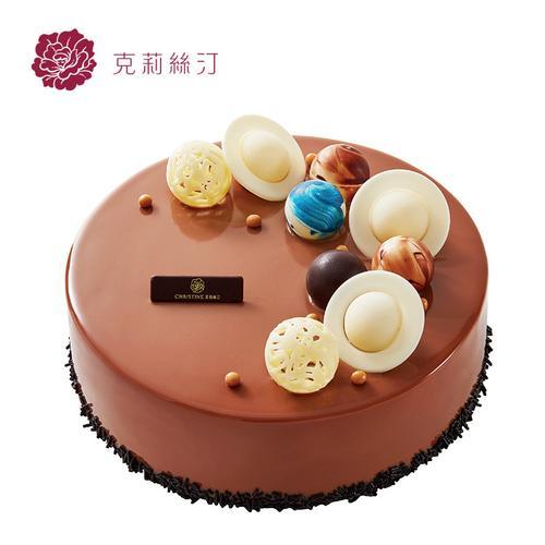 克莉丝汀生日蛋糕巧克力蛋糕鲜奶蛋糕可可蛋糕夏夜