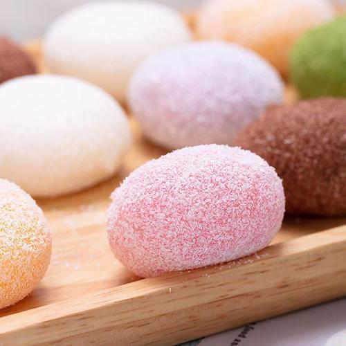 网红糕点大福雪媚娘糯米糍麻薯椰蓉大福10个装抹茶冰淇淋甜品零食