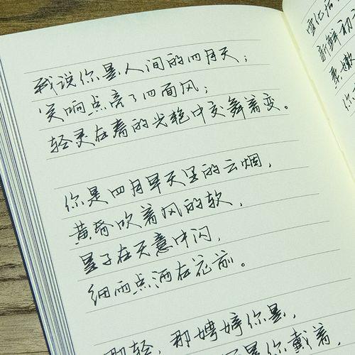 萧墨硬笔书法实用行书手写体成人学生练字帖钢笔中性
