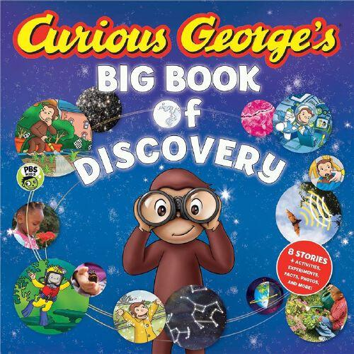 curious george's big book of discovery 好奇猴乔治