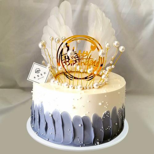仿真蛋糕模型欧式卡通皇冠鲜花新款塑胶睡宝宝道具定制蛋糕样品