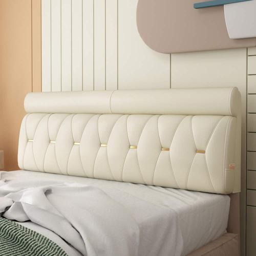床头靠垫榻榻米双人软包靠垫实木床头板套靠垫可粘贴靠背垫简约