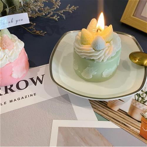 2021件闺蜜朋友e生日送礼物室客厅小众家居香i氛摆手工蛋糕式香薰
