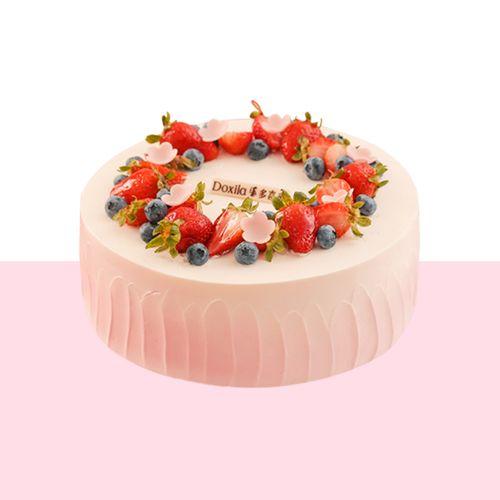 粉黛-香芋芝士蛋糕(长沙)