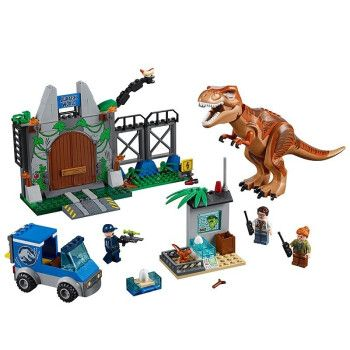 兼容乐高积木拼装恐龙霸王龙侏罗纪世界男孩玩具儿童礼物 霸王龙大