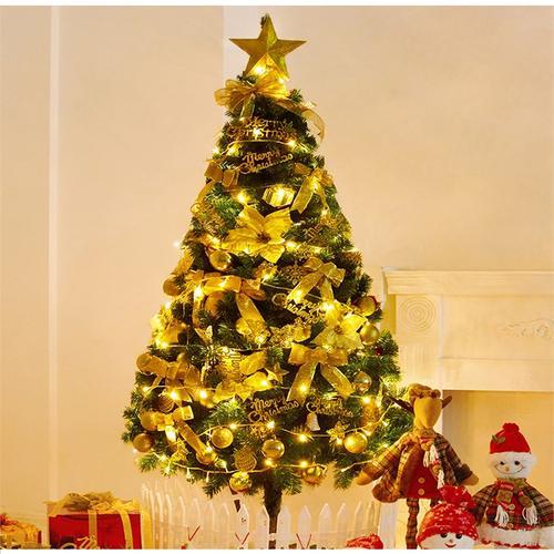 圣诞树家用摆件套餐发光1.5米大型1.8diy圣诞节装饰品