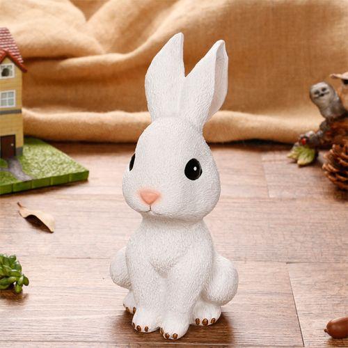 小兔子摆件儿童存钱罐创意可爱卡通零钱罐男孩女孩发财兔储蓄罐