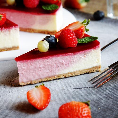 北欧莓果芝士蛋糕