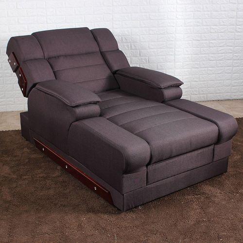 通虎足疗沙发电动足浴沙发躺椅足疗床洗浴中心休息床按摩床洗脚沙发椅