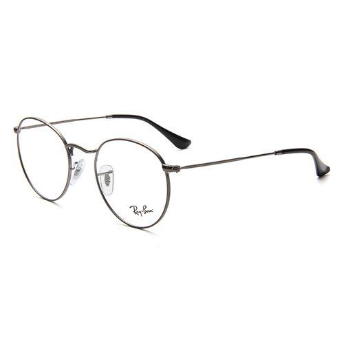 rayban 雷朋近视镜架男女款圆形金属框架复古近视眼镜
