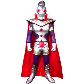大号奥特曼软胶关节可动玩具 对决 奥特 人偶玩偶模型 奥特之王+披风