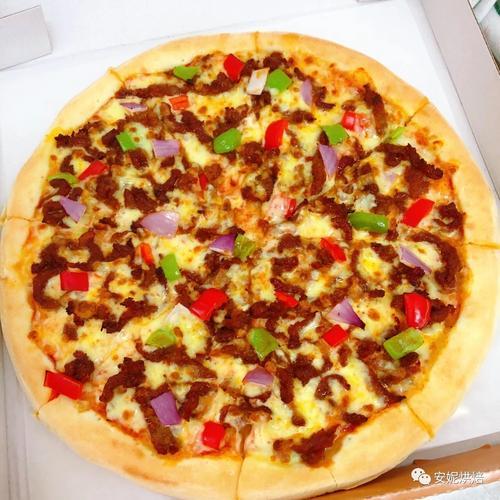 12寸招牌牛肉披萨