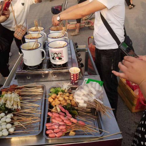 茶缸串串商用关东煮机器网红流动小吃车便捷夜市创业