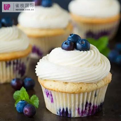 可定制化b2b cup cake蓝莓纸杯蛋糕体(14枚装)直供