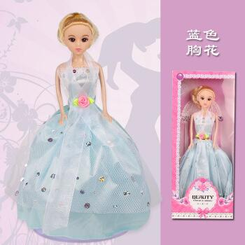 仿真换装妍儿芭比迷糊洋娃娃套装大礼盒公主女孩玩具单个梦想豪宅