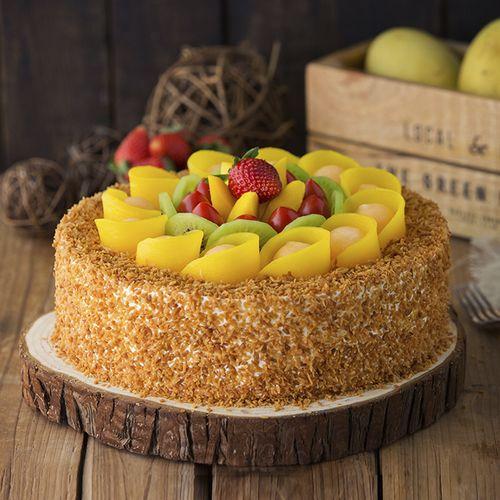 盛放鲜果蛋糕2磅(内江)