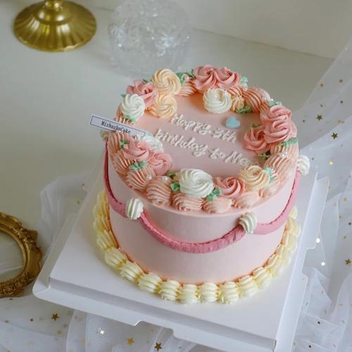 复古蛋糕a(4寸)