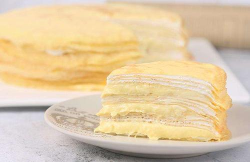 新鲜满满3层榴莲肉 榴莲千层生日蛋糕(1磅)