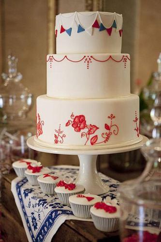 翻糖蛋糕手工捏花蛋糕模型生日蛋糕圆形蛋糕婚礼蛋糕