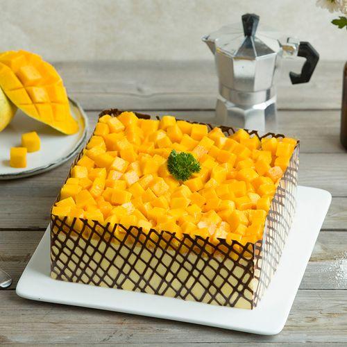 【有1磅了】热卖-芒果茫茫蛋糕-芒果慕斯蛋糕(盐城)