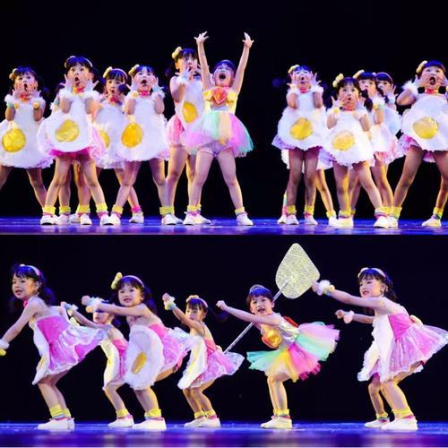 六一儿童节舞蹈服装2021幼儿可爱酷酷的合唱演出朗诵