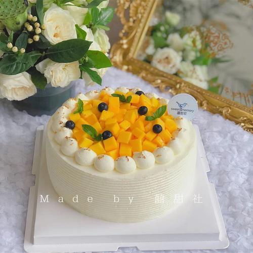 【经典水果奶油蛋糕】芒果/红心火龙果/猕猴桃千层or戚风蛋糕