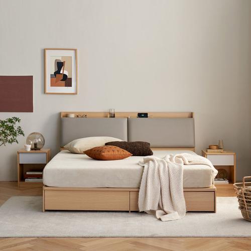 样子生活有容收纳床(1.8米 抽屉款)