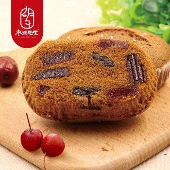枣粮先生老蜂蜜枣糕 山楂蛋糕营养早餐糕点 山楂红枣蛋糕500g