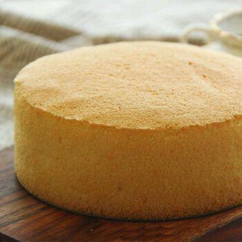 新鲜现做海绵蛋糕胚6-14寸 生日蛋糕半成品即食糕点心