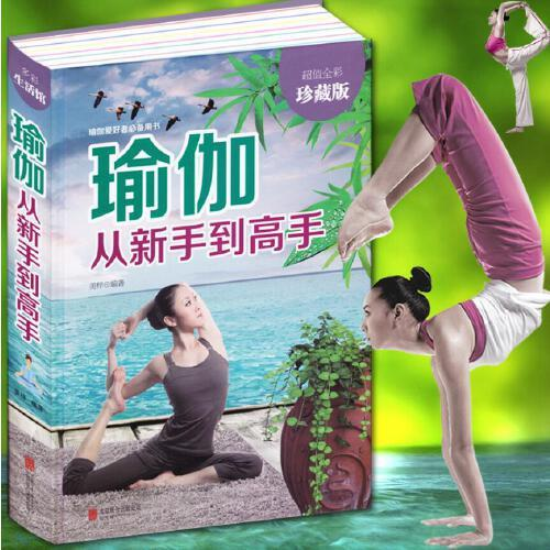 初级入门零基础教程大全图解 瘦身减肥初学者 阴瑜伽普拉提教程健身书