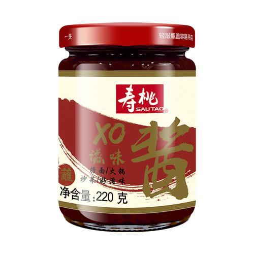 寿桃xo酱瓶装 港式车仔面专用xo滋味酱拌面酱捞面酱